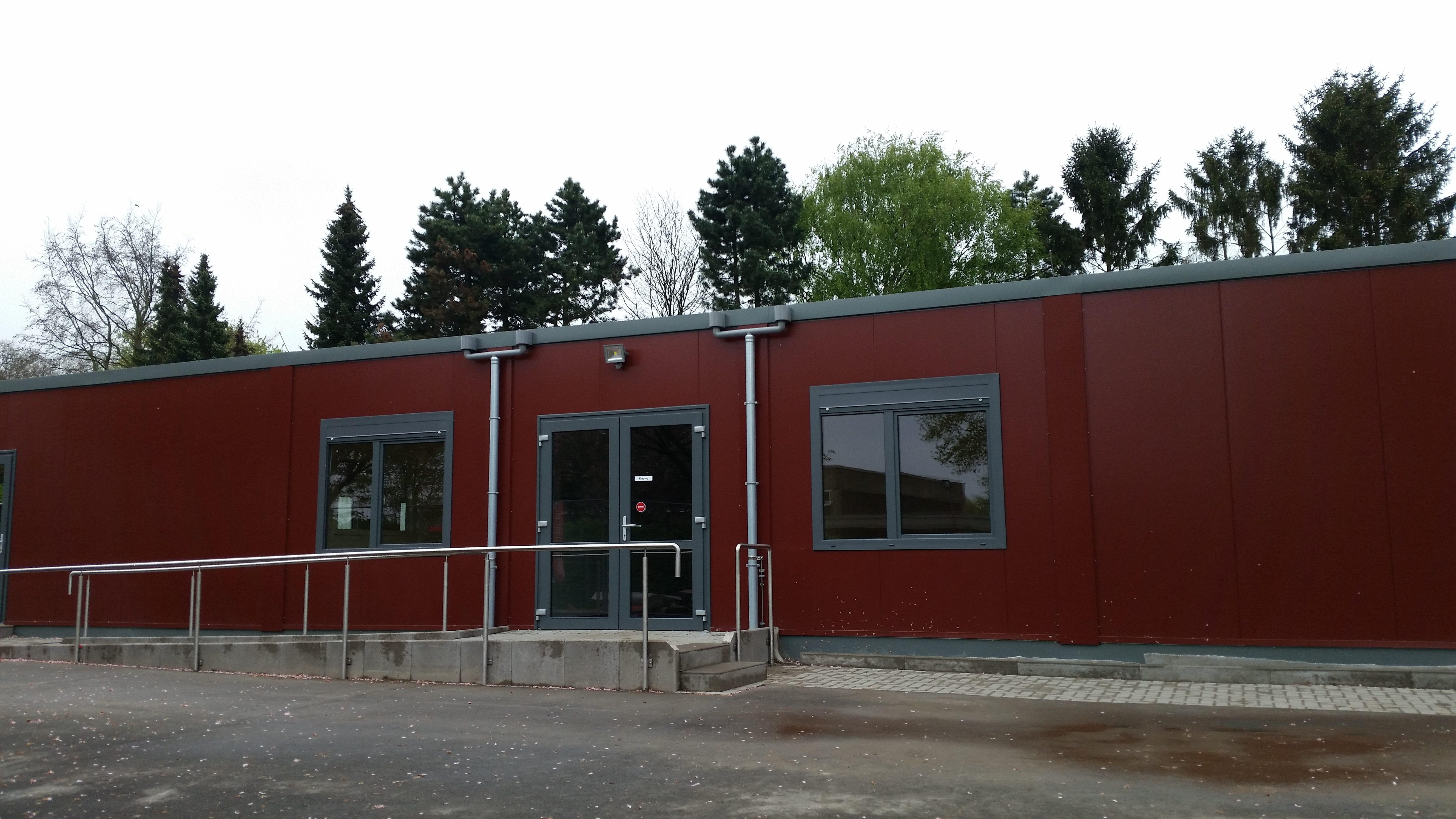 Fußboden Verlegen Rheine ~ Bau pavillon u2013 kvg u2013 kardinal von galen schule u2013 rheine